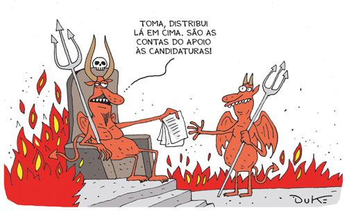 Diabo na politica