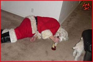 Papai Noel de foz