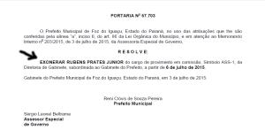 Exoneração Rubens Prates_03_7_15