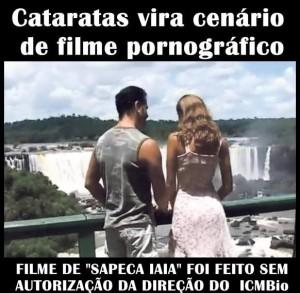 Filme nas cataratas